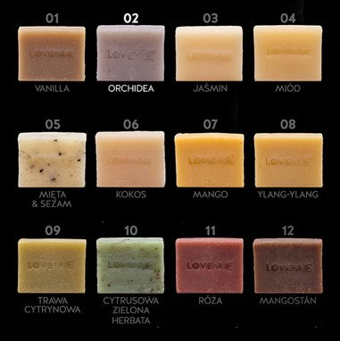 "Natural Soap - Vegan THAILINE ""Orchidea"" 20g"