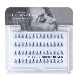 Fake individual eyelashes with knott, thickness 10 hairs, lenght 8 mm Lovenue by Magda Pieczonka (X)