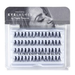 Fake individual eyelashes without knott, thickness 20 hairs, lenght 13 Lovenue by Magda Pieczonka (M)