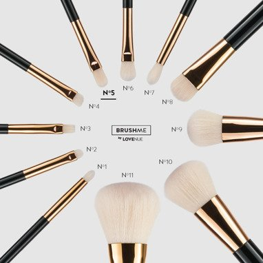 BRUSHME by LOVENUE No 5. PENCIL BRUSH FOR APPLYING/BLENDING EYESHADOW.
