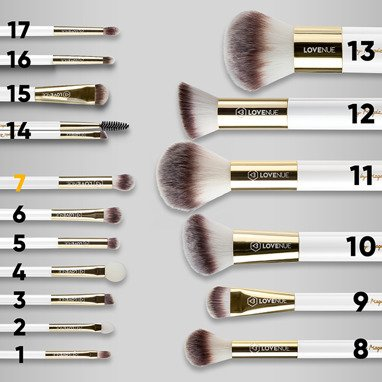Eyeshadow Blend and Illuminate Brush No 7