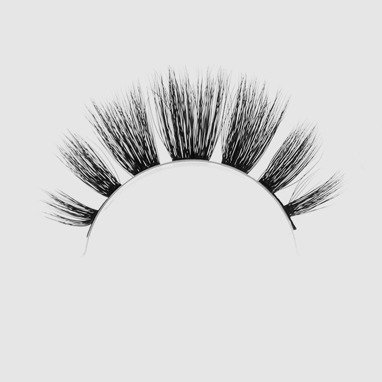LOVENUE – Curled, silk faux lashes on a band – No 10 Femme fatale