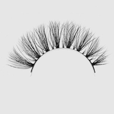 LOVENUE – Curled, silk faux lashes on a band – No 12 Hot
