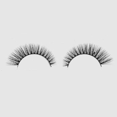 LOVENUE – Curled, silk faux lashes on a band – No 2 Magic