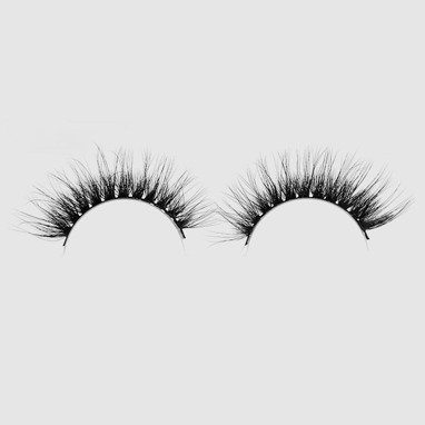 LOVENUE – Curled, silk faux lashes on a band – No 4 Lolita