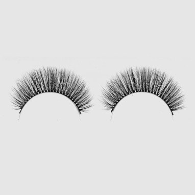 LOVENUE – Curled, silk faux lashes on a band – No 6 Baby doll