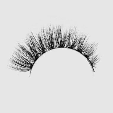 LOVENUE – Curled, silk faux lashes on a band – No 8 Butterfly