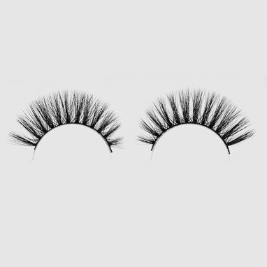 LOVENUE – Curled, silk faux lashes on a band – Nr 9 Sexy