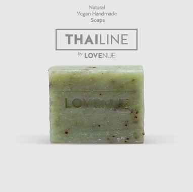 "Natural Soap - Vegan THAILINE ""Citrus green tea"" 20g"