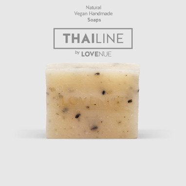 "Natural Soap - Vegan THAILINE ""Mint & sezame"" 20g"