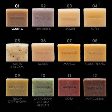 "Natural Soap - Vegan THAILINE ""Vanilla"" 20g"