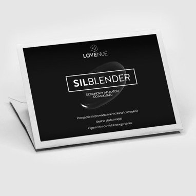 SilBlender by LOVENUE – silicone makeup tool.