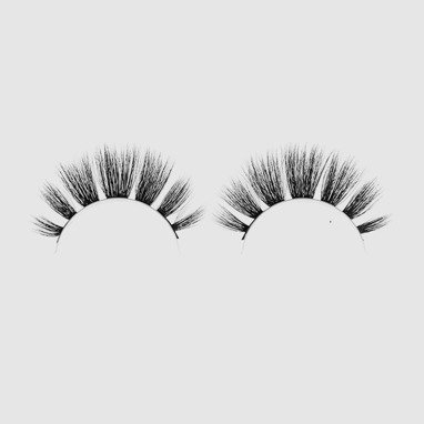 Silk faux lashes on a band – No.10 Femme fatale