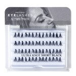 Fake individual eyelashes without knott, thickness 20 hairs, lenght 10 mm Lovenue by Magda Pieczonka (X)