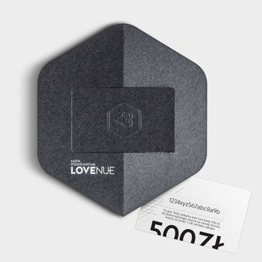 Oryginal Lovenue gift card  – Graphite